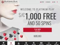 platinum play casino accueil